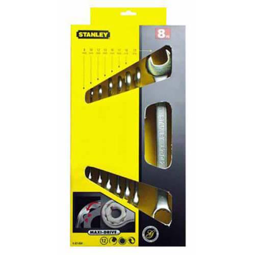 Набор ключей гаечных комбинированных STANLEY 4-87-054