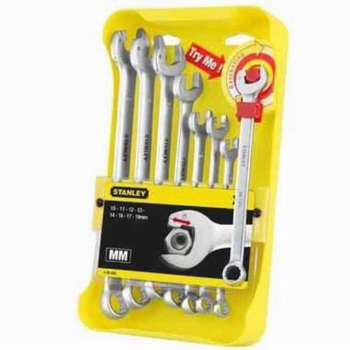 Набор ключей гаечных комбинированных STANLEY 4-95-660