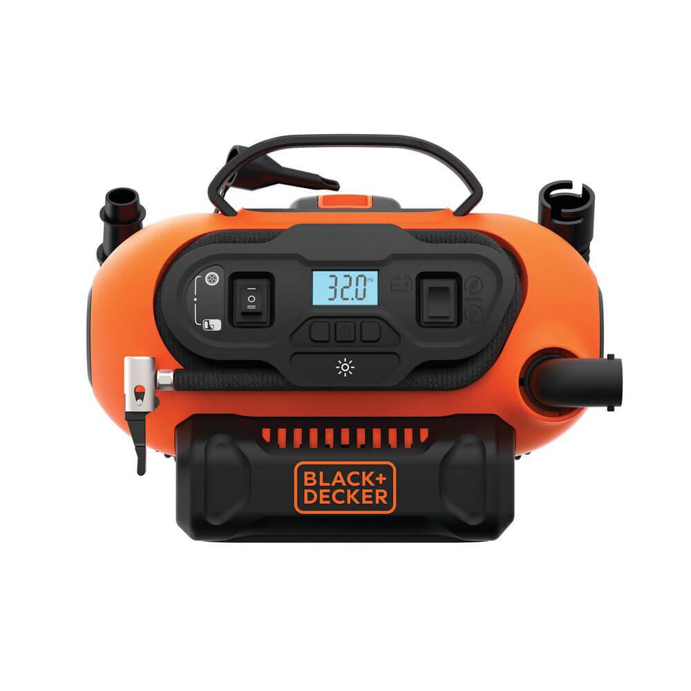 Компрессор автомобильный аккумуляторный BLACK+DECKER BDCINF18N