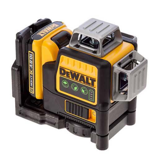 Лазер самовыравнивающийся 3-х плоскостной DeWALT DCE089D1G