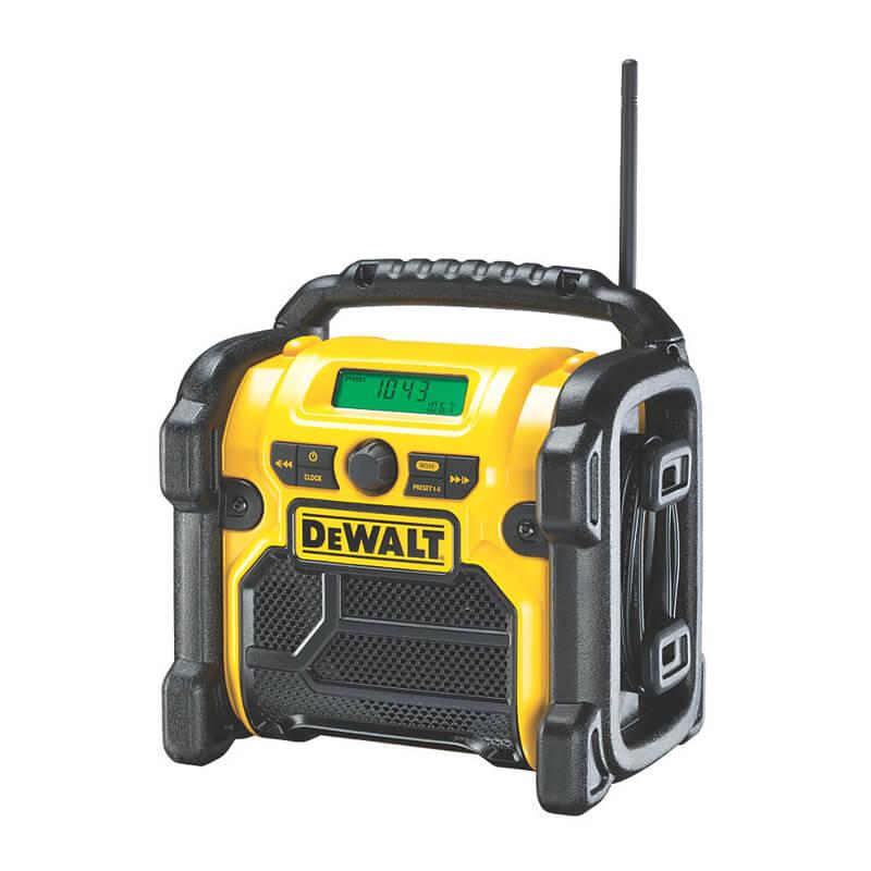 Зарядное устройство-радиоприемник DAB/FM DeWALT DCR020