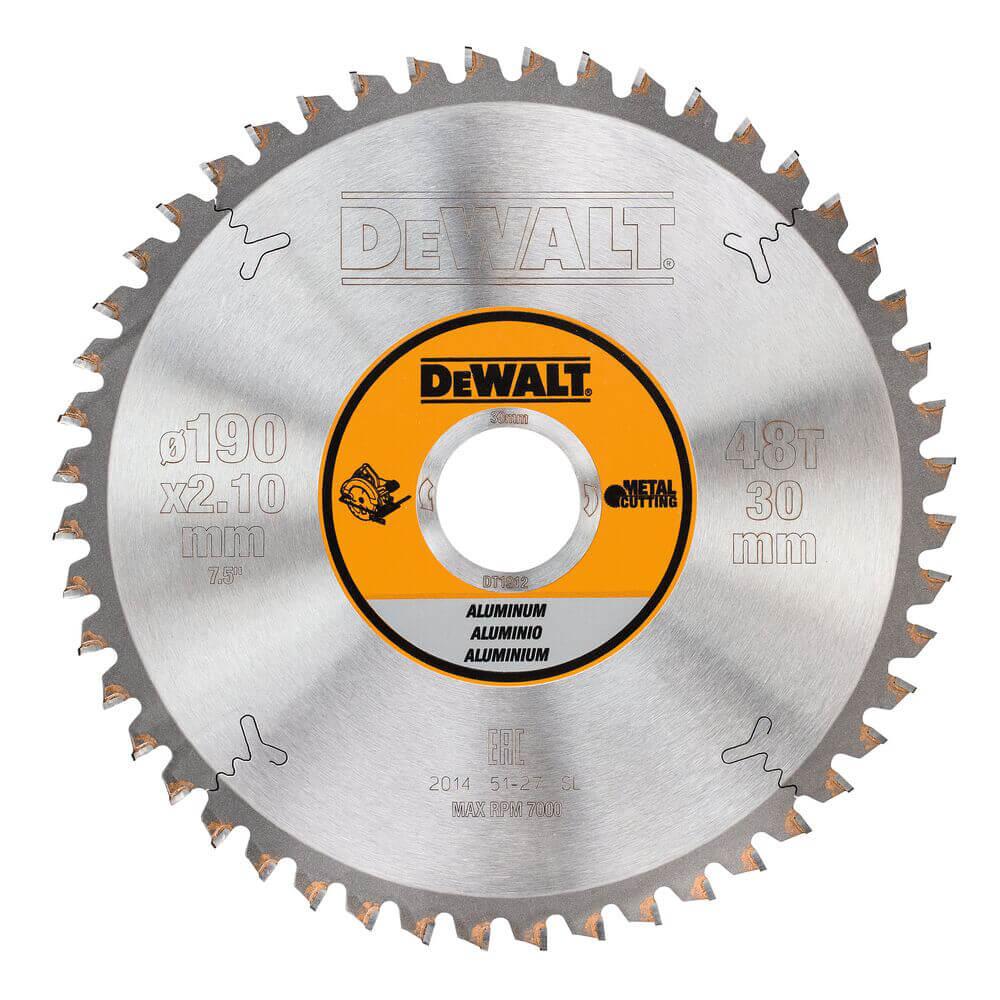 Диск пильный METAL CUTTING DeWALT DT1912