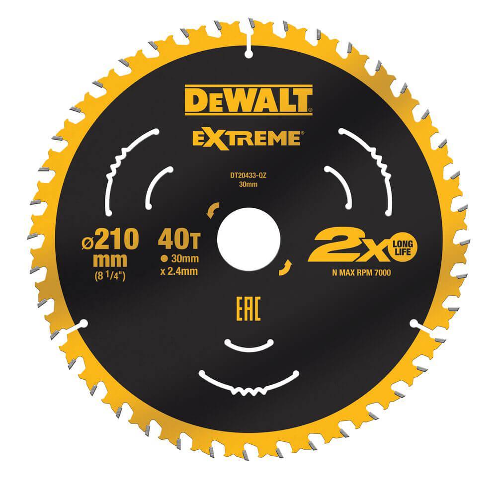 Диск пильный EXTREME DeWALT DT20433
