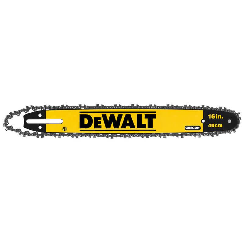 Шина для цепной пилы с цепью 40 см DeWALT DT20660