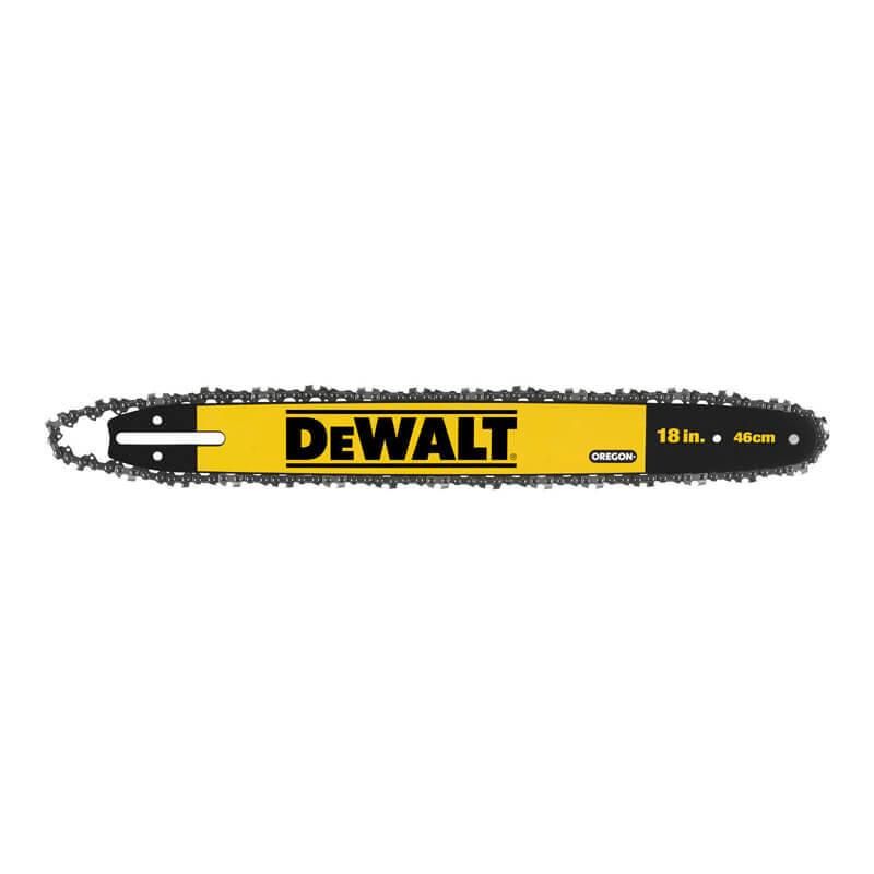 Шина для цепной пилы с цепью 46 см DeWALT DT20661