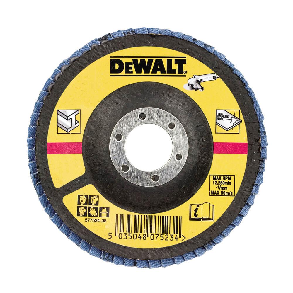 Круг шлифовальный лепестковый плоский DeWALT DT3310