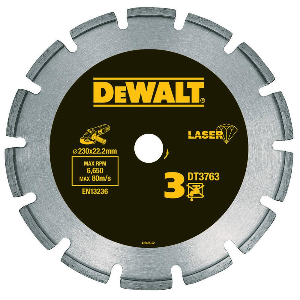 Диск алмазный по граниту DeWALT DT3761