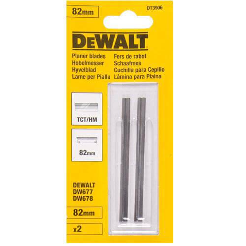 Ножи для рубанка твердосплавные DeWALT DT3906