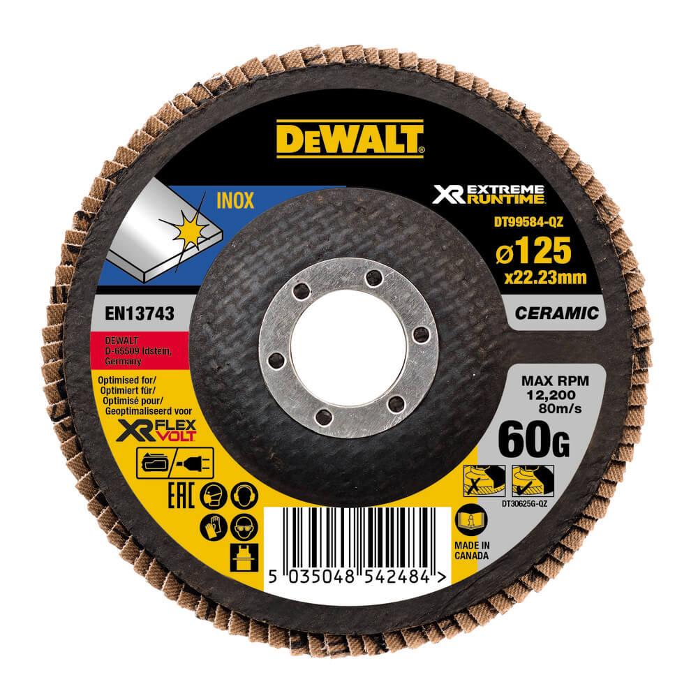Круг шлифовальный лепестковый изогнутый DeWALT DT99584