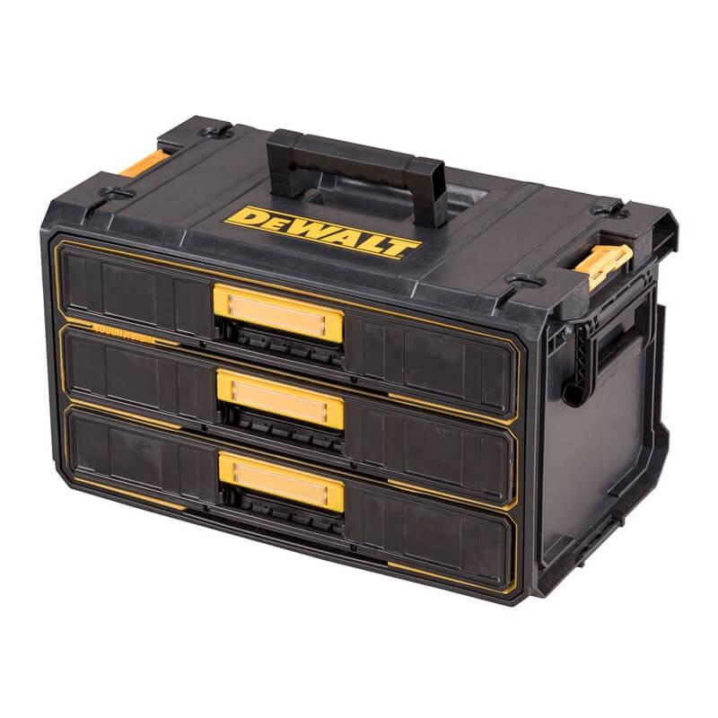 Ящик инструментальний TOUCHSYSTEM 55х34х30 см 3 выдвижные секции DeWALT DWST1-81055