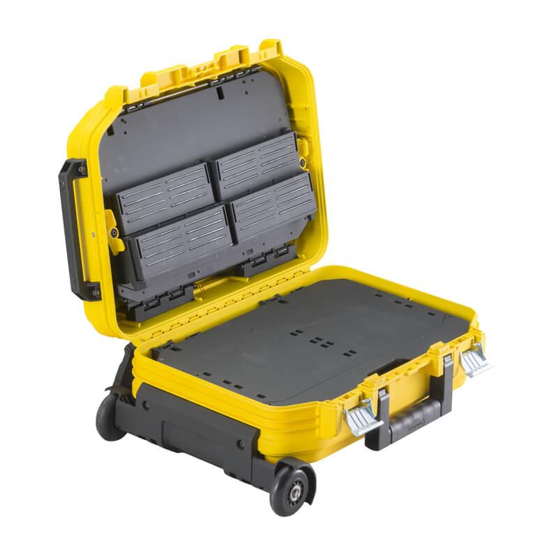Ящик техника FATMAX®, 540 х400 х 435 мм, армированный стекловолокном, оснащен колесами STANLEY FMST1-72383
