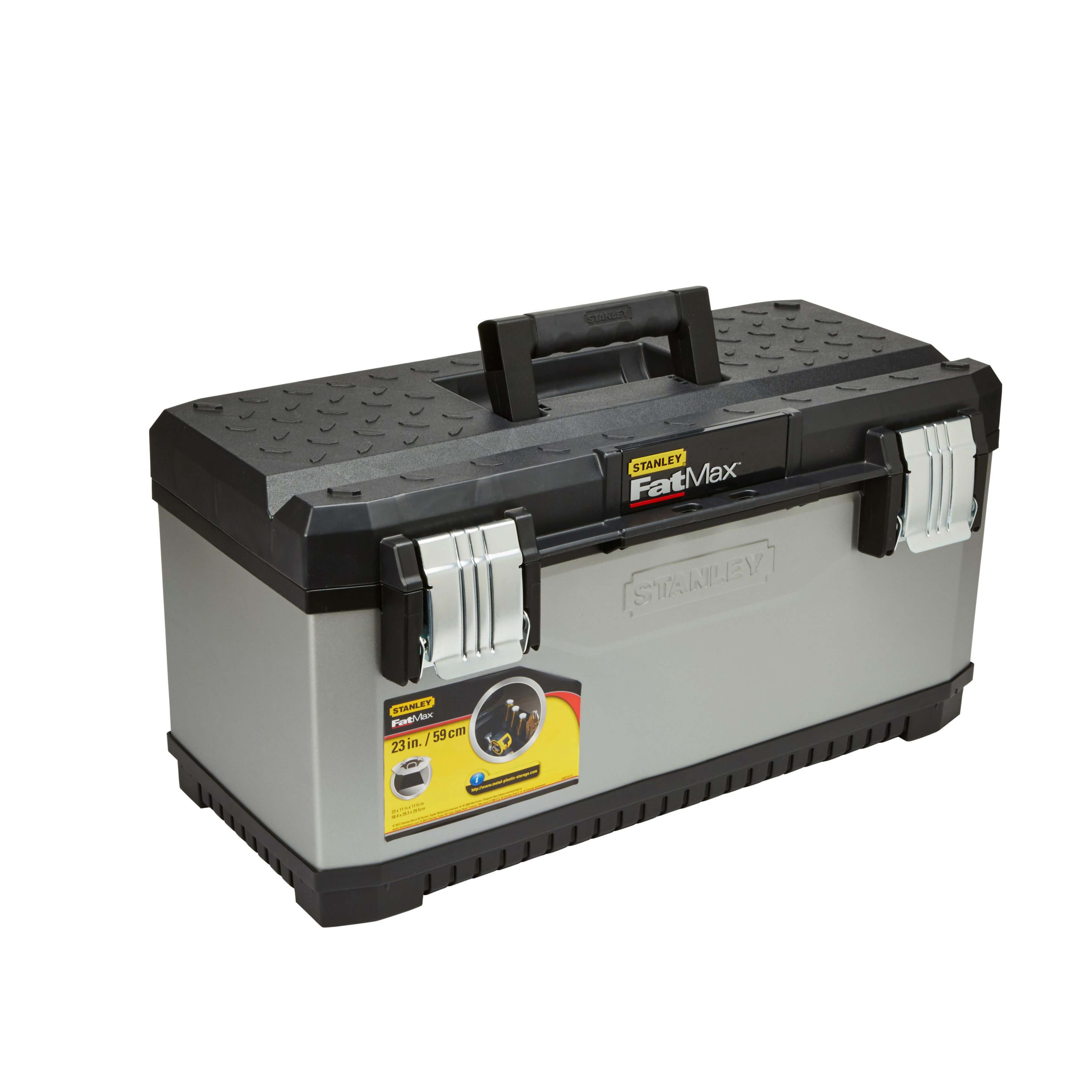 Ящик FatMax профессиональный металлопластиковый размером 59х29.3х22.2 см STANLEY FMST1-75769