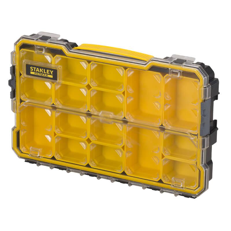 Органайзер FATMAX профессиональный, мелкий 446х267х74 мм, влагозащищенный IP-53 STANLEY FMST1-75779