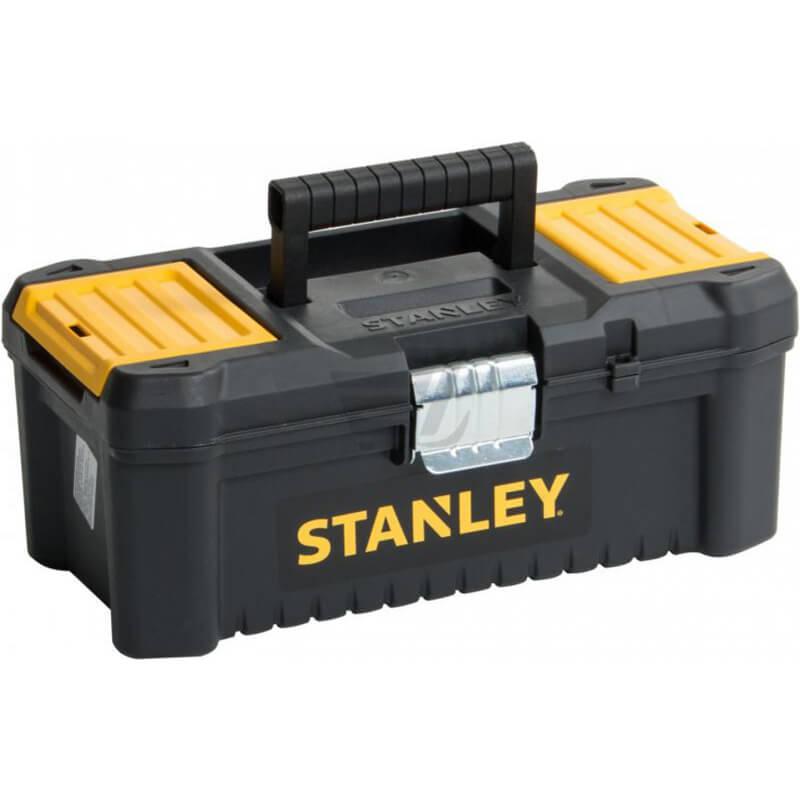 Ящик ″ESSENTIAL″ пластиковый с металлическими защелками, размер 316x156x128 мм (12.5″) STANLEY STST1-75515