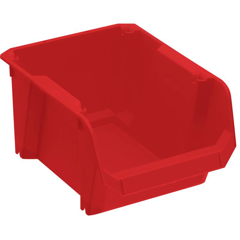 Лоток сортировочный красного цвета, размеры 240 x 175 x 125 мм STANLEY STST82739-1