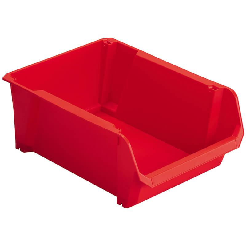 Лоток сортировочный красного цвета, размеры 340 x 226 x 155 мм STANLEY STST82742-1