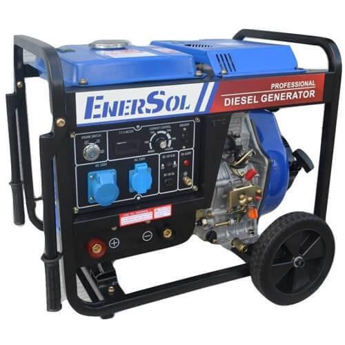 Генератор дизельный EnerSol SWD-7EB